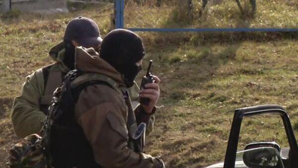 Oficiales de las fuerzas especiales rusas en Nálchik - Sputnik Mundo