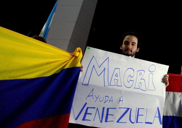 Ciudadano venezolano en Buenos Aires
