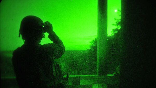 Operación con dispositivos de visión nocturna - Sputnik Mundo