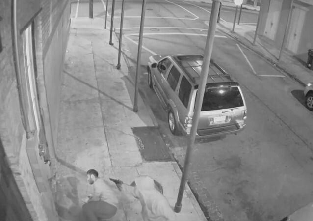 Buen samaritano, disparado al intentar detener un robo a mano armada