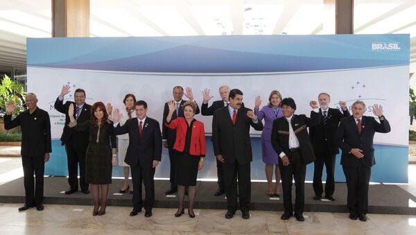 Cumbre del Mercosur en Brasil - Sputnik Mundo