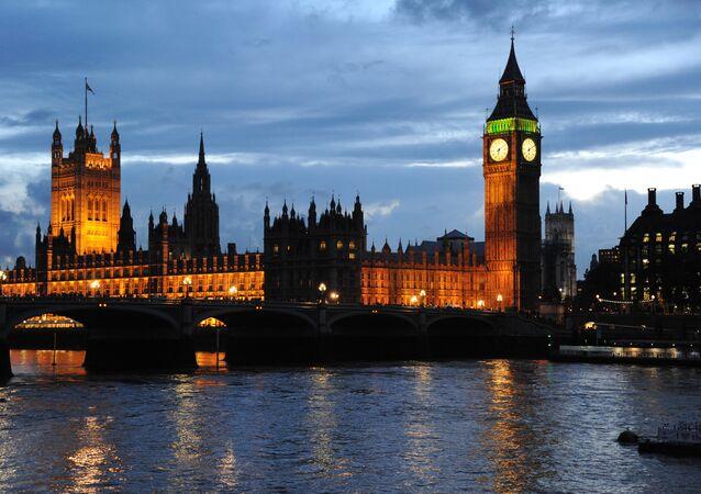 Palacio de Westminster, la sede del Parlamento del Reino Unido (imagen referencial)