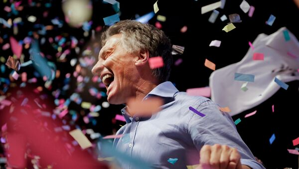 Mauricio Macri, presidente electo de Argentina - Sputnik Mundo