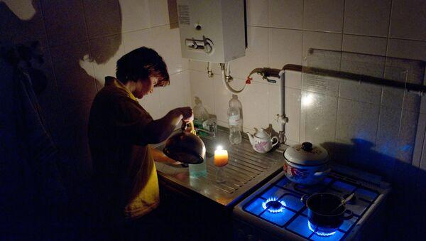 Corte de luz en Crimea - Sputnik Mundo