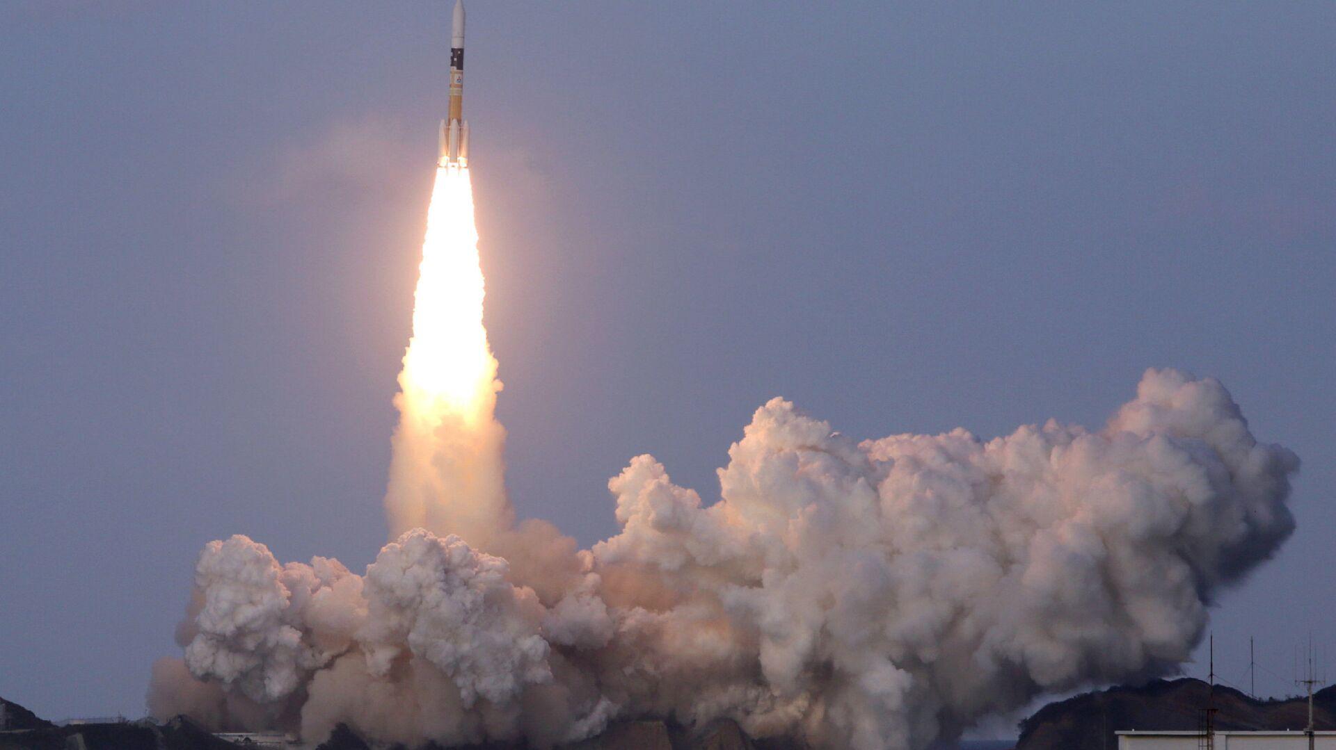 Lanzamiento del cohete japonés H2A con un satélite canadiense desde el centro espacial de Tanegashima - Sputnik Mundo, 1920, 02.09.2021