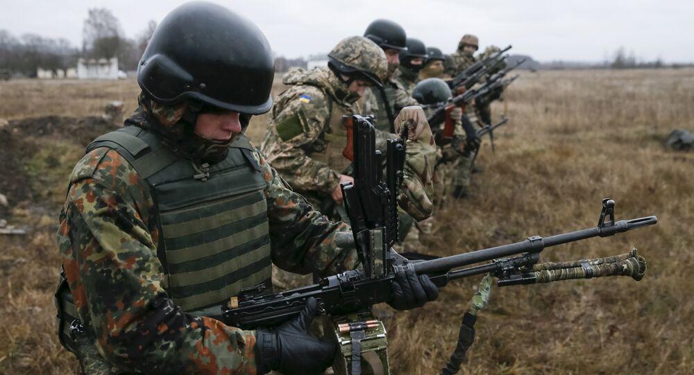 Ejército ucraniano (archivo)
