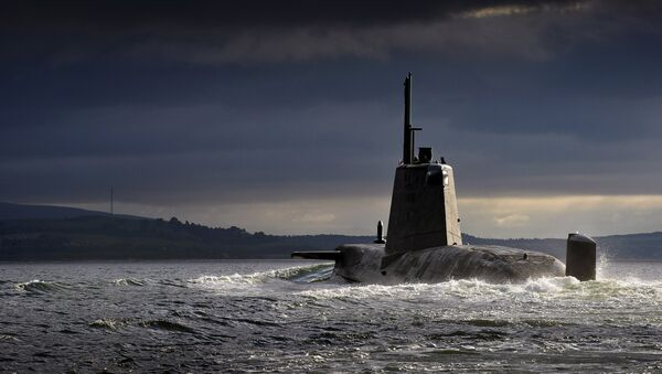 Ambush, second of the nuclear powered Astute Class attack submarines, was named in Barrow on 16 December 2010 and launched on 5 January 2011. - Sputnik Mundo