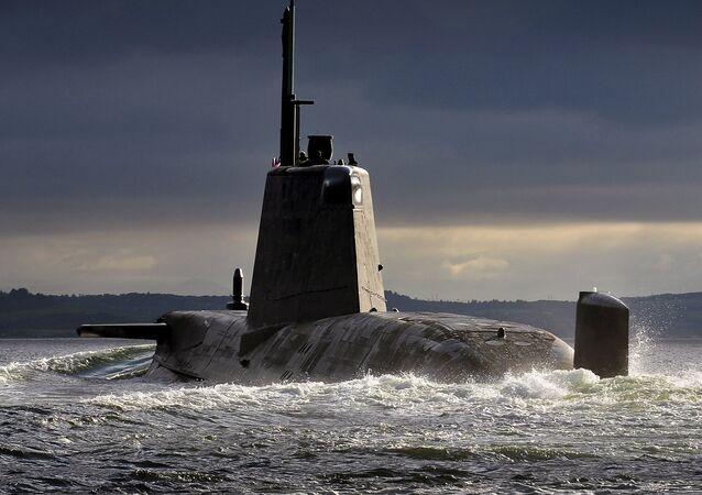 Submarino británico de la clase Trafalgar
