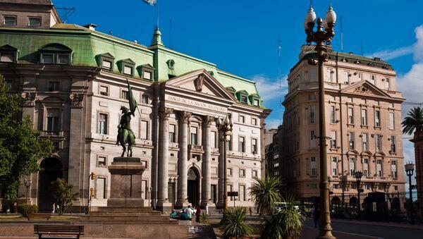 Edificio del Banco de Argentina en Buenos Aires - Sputnik Mundo