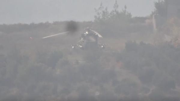 Infante de marina ruso muere en Siria a causa de ataque contra helicóptero Mi-8 - Sputnik Mundo