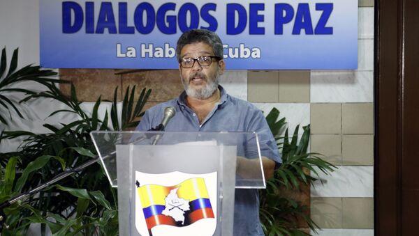 """""""Marcos Calarcá"""", guerrillero de las FARC - Sputnik Mundo"""
