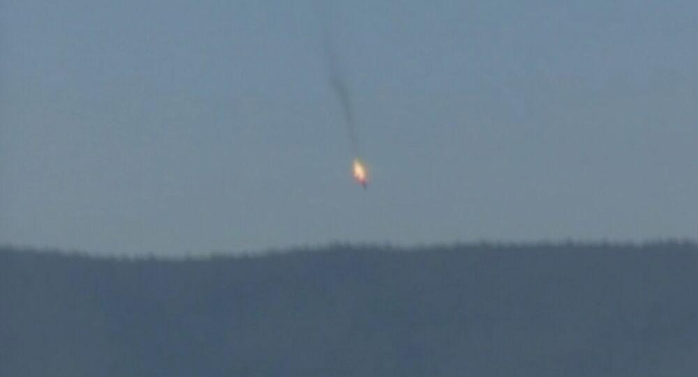 Caza Su-24 ruso cae tras ser derribado por avión turco