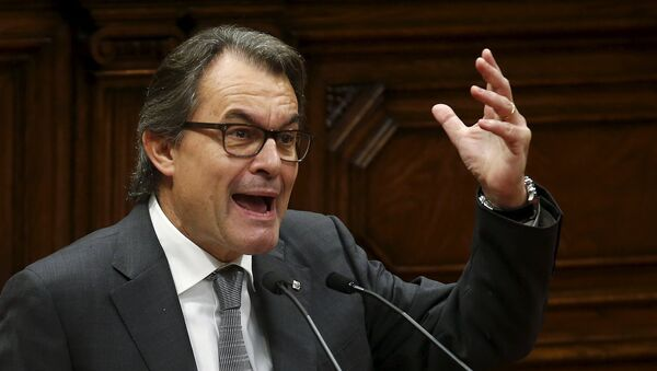 Artur Mas, expresidente catalán - Sputnik Mundo