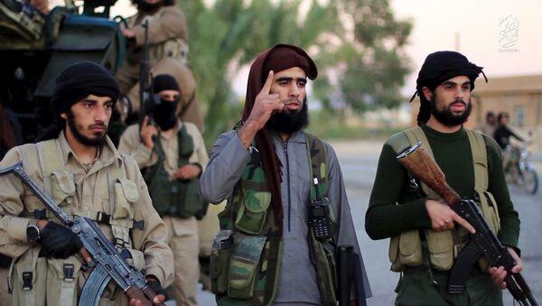 Yihadistas de Daesh - Sputnik Mundo