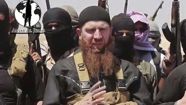 Abu Omar al-Shishani, señor de la guerra de EI - Sputnik Mundo