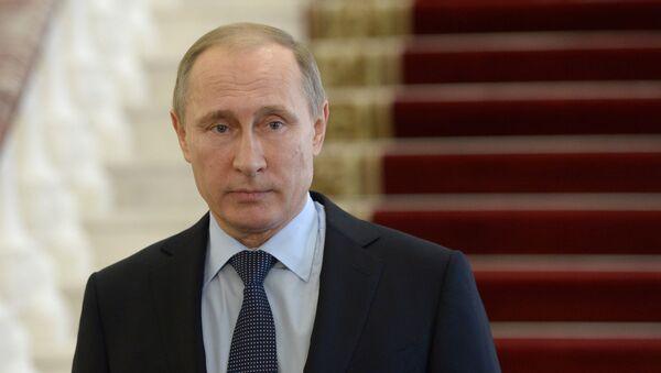 Vladímir Putin, el presidente de Rusia - Sputnik Mundo