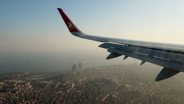 Vista de Estambul desde avión - Sputnik Mundo