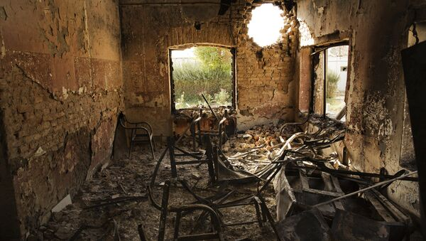 Hospital de Médicos sin Fronteras en Kunduz tras sufrir un bombardeo - Sputnik Mundo