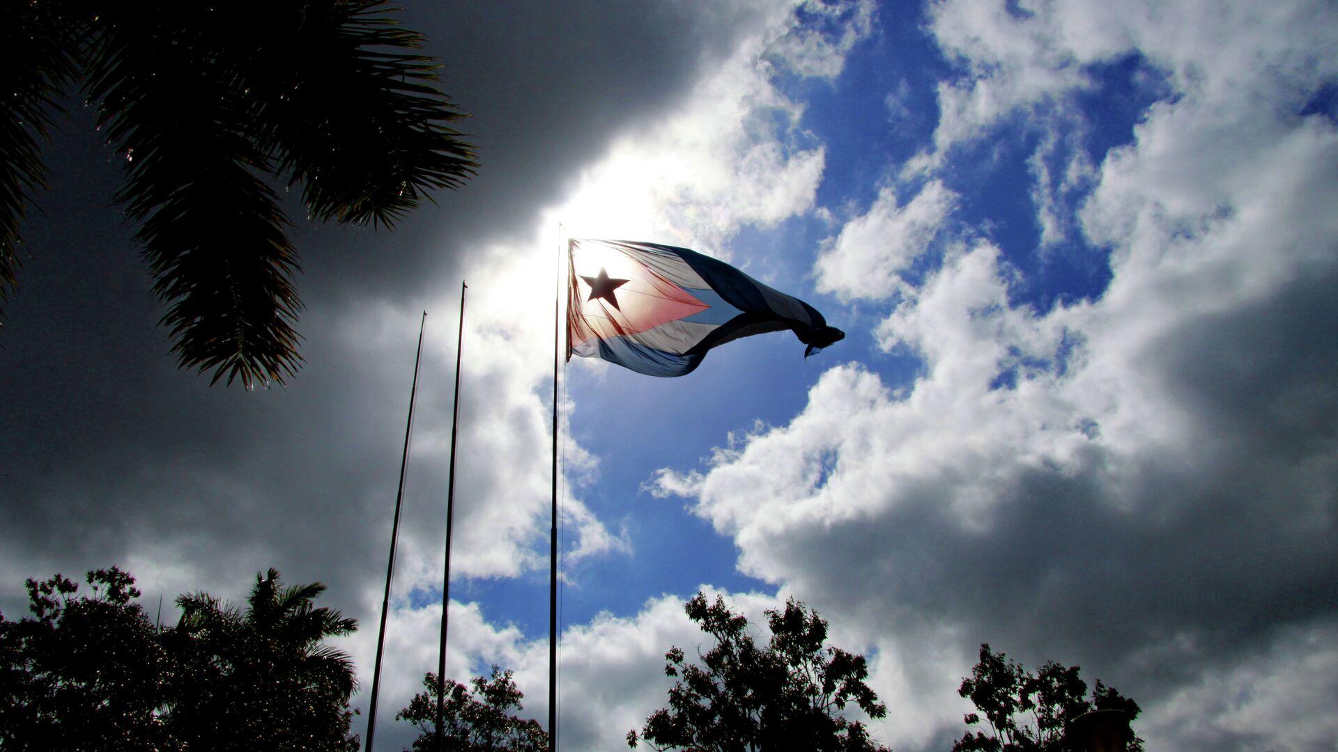 La bandera de Cuba - Sputnik Mundo, 1920, 31.07.2021