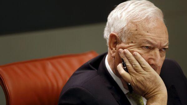 José Manuel García-Margallo, el ministro de Asuntos Exteriores de España - Sputnik Mundo
