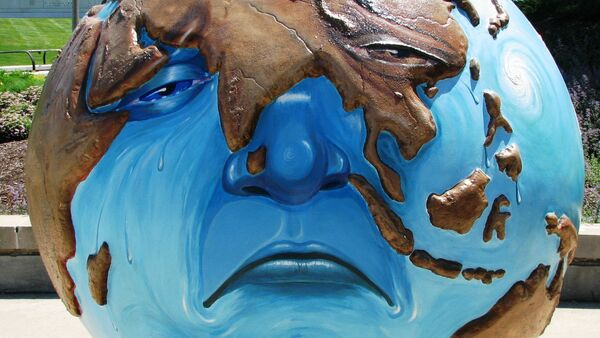 Exposición de arte sobre el cambio climático en Chicago, EEUU - Sputnik Mundo