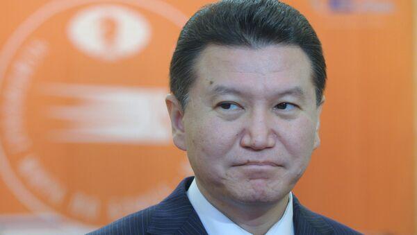 Kirsán Iliumzhínov, el presidente de la Federación Internacional de Ajedrez - Sputnik Mundo