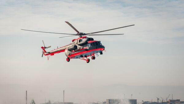 Helicóptero ártico Mi-8AMTSh-VA - Sputnik Mundo