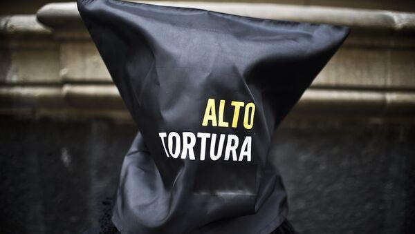 Protesta contra la tortura en México - Sputnik Mundo