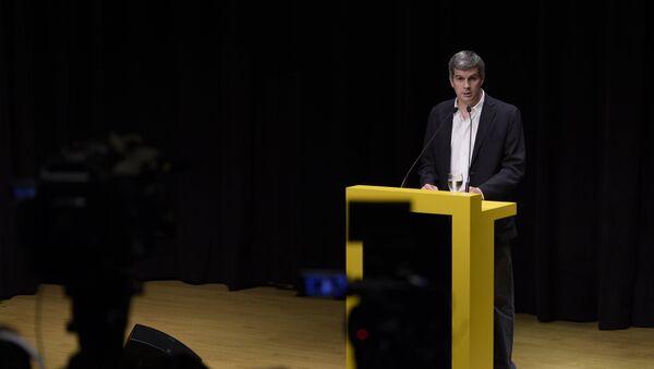 Marcos Peña, futuro jefe de gabinete del Gobierno, anuncia futuros ministros, Argentina - Sputnik Mundo