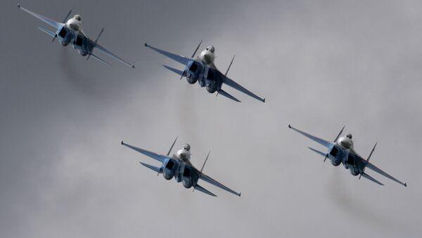 Cazas Su-27 - Sputnik Mundo