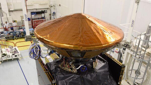 Módulo del aterrizaje Schiaparelli, también conocido como ExoMars Entry - Sputnik Mundo