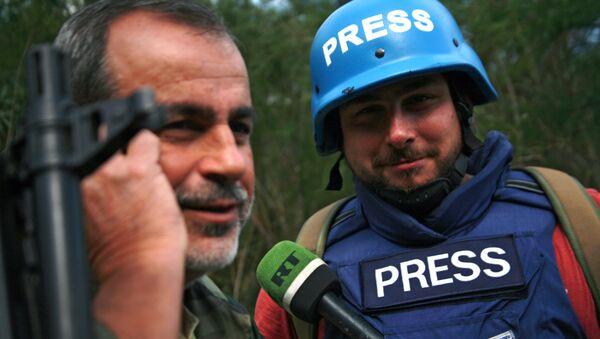 Sargon Hadaya, reportero de la cadena de televisión RT - Sputnik Mundo