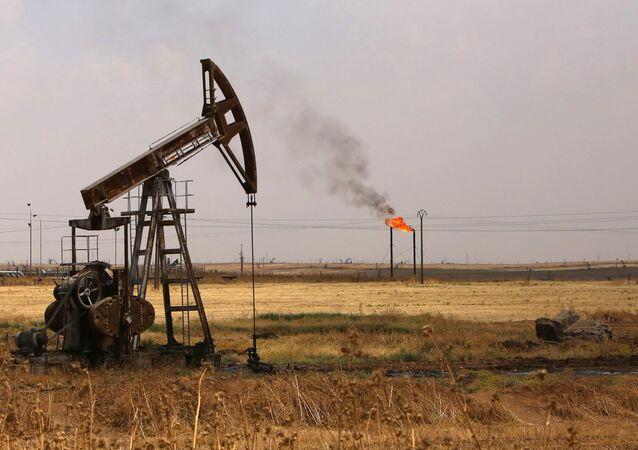 Extracción de petróleo en Siria
