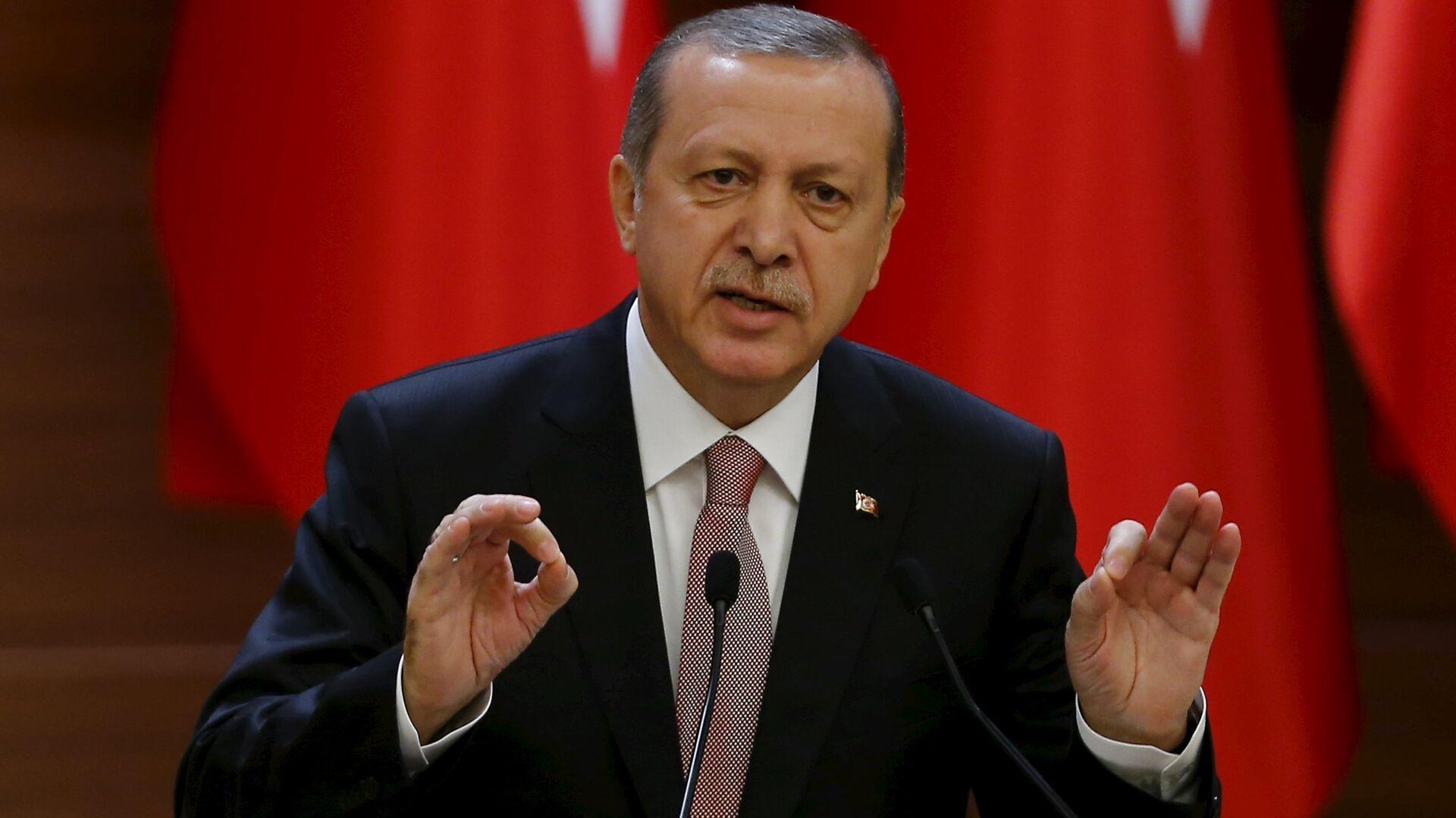 Recep Tayyip Erdogan, presidente de Turquía - Sputnik Mundo, 1920, 11.04.2021