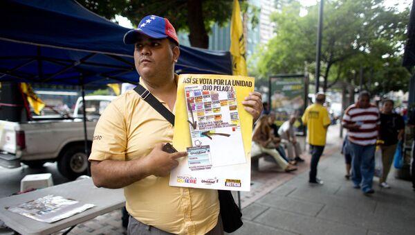 Se multiplican reclamos para contener violencia política en Venezuela - Sputnik Mundo
