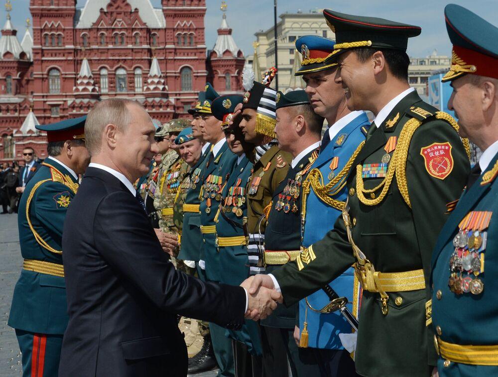 El comandante en jefe Vladímir Putin