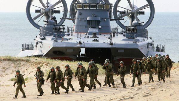 """Muerte negra"" o la infantería naval de Rusia - Sputnik Mundo"