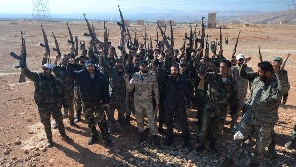 Ejercito de Siria - Sputnik Mundo