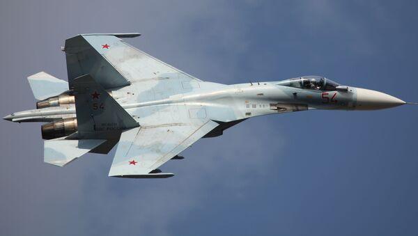 Un Su-27SM3 - Sputnik Mundo