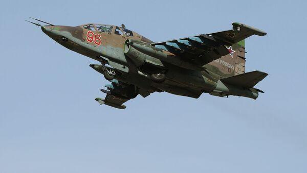 Aviones de ataque rusos Su-25SM - Sputnik Mundo