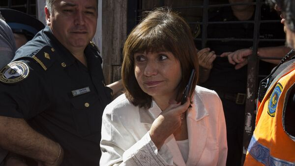 Patricia Bullrich, ministra de Seguridad argentina - Sputnik Mundo