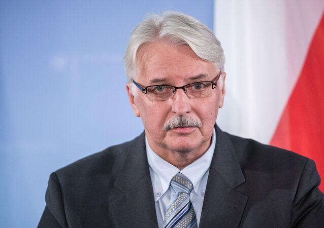Witold Waszczykowski, canciller de Polonia