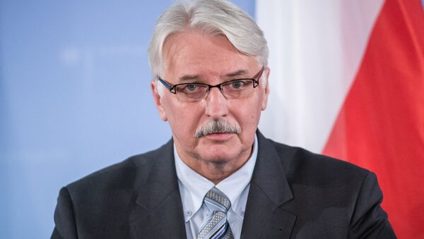 Witold Waszczykowski, ministro de Exteriores de Polonia - Sputnik Mundo