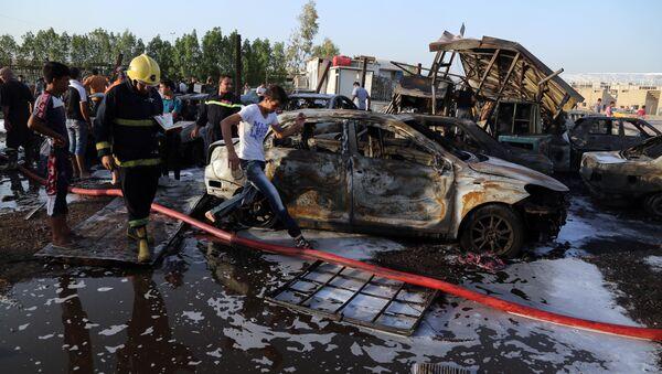 Ataque suicida en Irak en agosto de 2015 - Sputnik Mundo