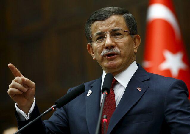 Ahmet Davutoglu, el primer ministro de Turquía
