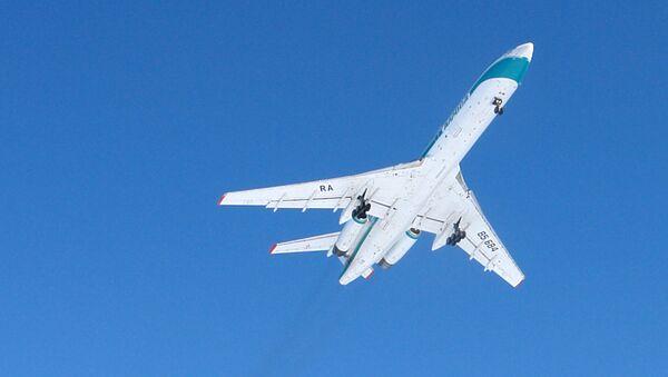 Un avión Tu-154M - Sputnik Mundo