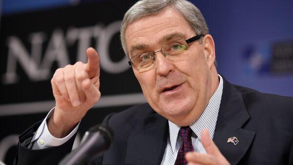 Douglas Lute, embajador de EEUU ante la OTAN - Sputnik Mundo