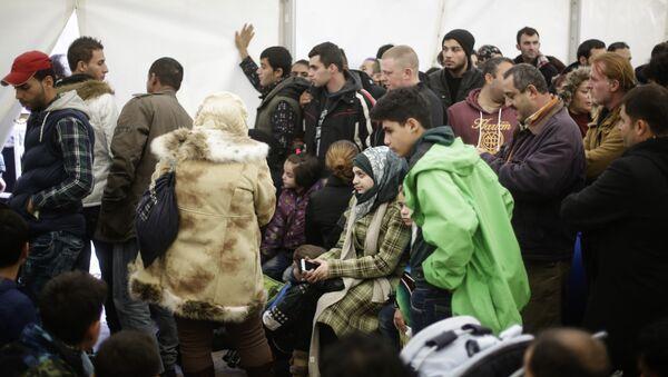 Migrantes en Alemania - Sputnik Mundo