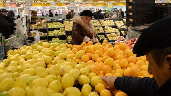 Rusia sanciona los cítricos turcos - Sputnik Mundo
