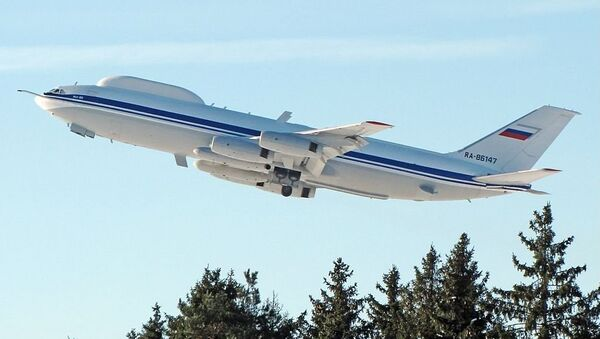 Il-80 (Il-86VKP) - Sputnik Mundo